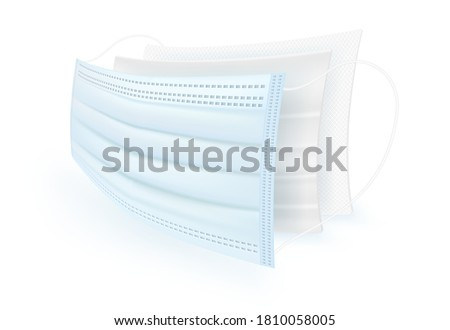 3 ply filter material protective surgical mask. 1rd carbon sheet is coated with an antiseptic. 2rd layer is thick and dustproof. 3rd fine fibers, air purification.