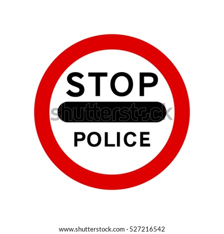 police stop sign united