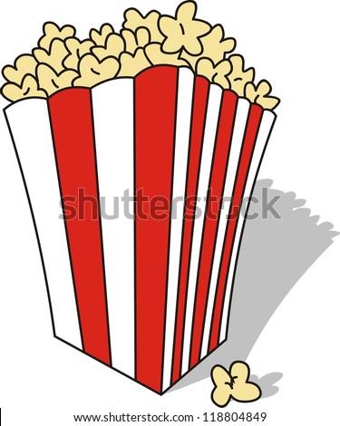 Vector clip art popcorn download free vector art free for Clipart to download for free