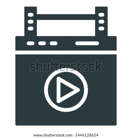 Post production, pre-production Isolated Vector Icon which can easily modify or edit