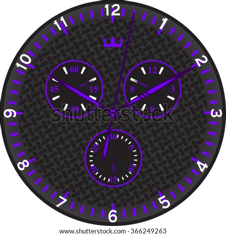 purple sports watches with
