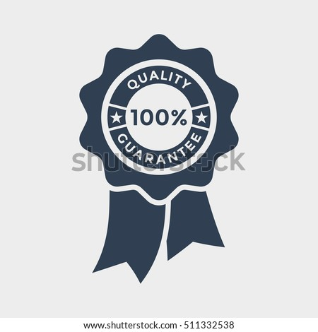 100% quality ribbon Icon