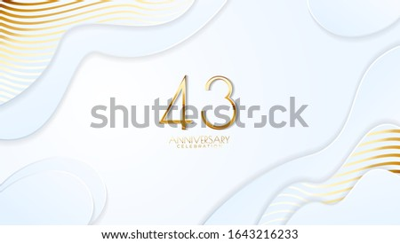 43rd anniversary celebration