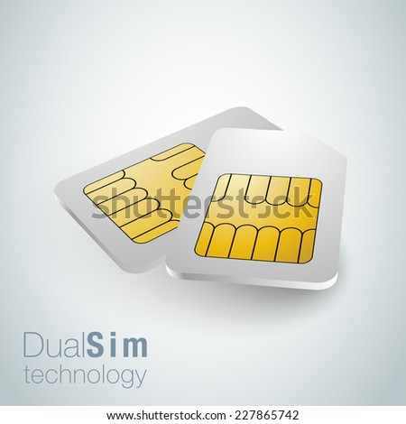 realistic sim cards  dual sim