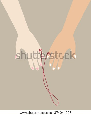 red string of fate  asian