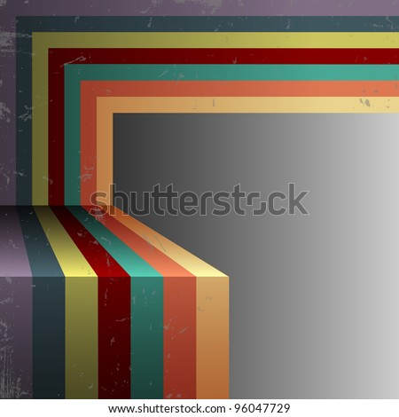 Retro abstract background.Vector eps10