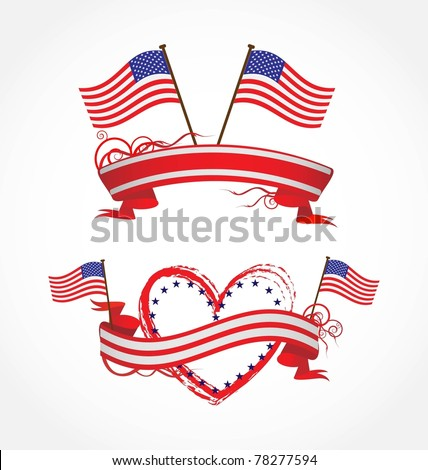 ribbons for July 4Th