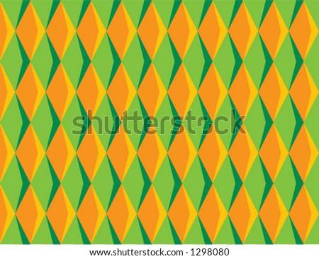 70's Diamond Pattern
