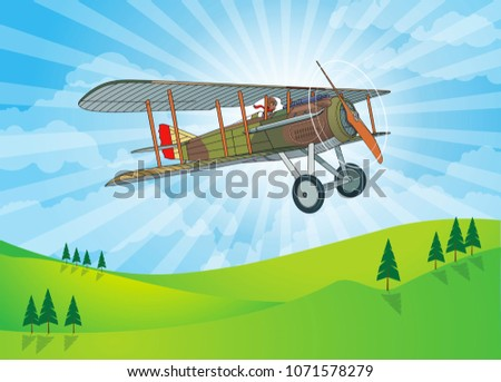 1900's french air force  spad
