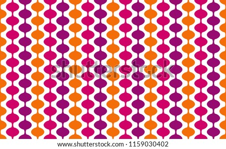 1960s Groovy Mod Party Wallpaper, Bright  Modern Background Pattern with a Retro 60s Mod Look, Art for Walls, Vintage Scrapbooking Texture, Groovy Baby, Seamless Repeating Tile Backdrop