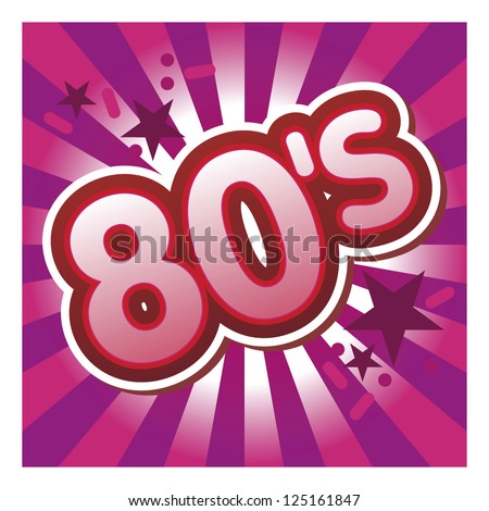 80's illustration
