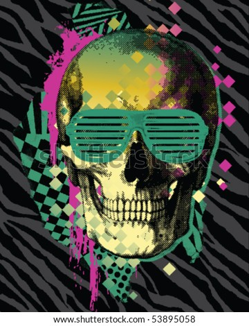 80s skull