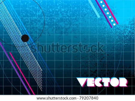 80s style dynamic vector design background for use in layouts and presentations