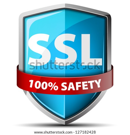 100% Safety Shield - stock vector