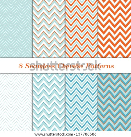stock-vector--seamless-chevron-patterns-in-aqua-blue-turquoise-white-and-coral-orange-pattern-swatches-made