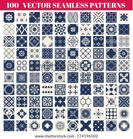 100 seamless patterns
