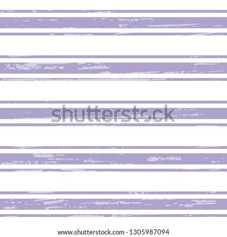 Seamless vector pattern with violet thick and thin stripes on a white backdrop, for wrap, surface, packaging, postcard. Abstract illustration, textured. Striped design. Striped background.