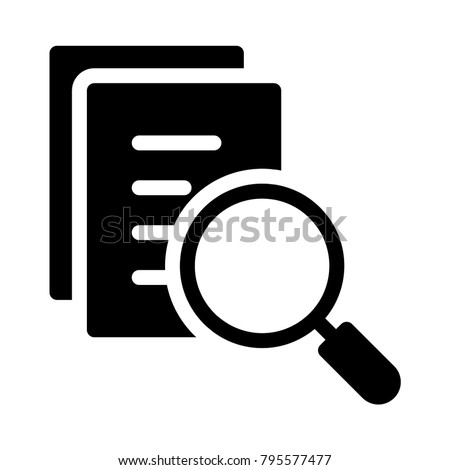 search document  magnifier
