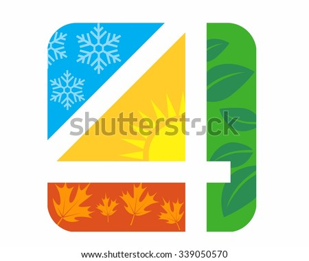 4 seasons logo icon vector 339050570 shutterstock