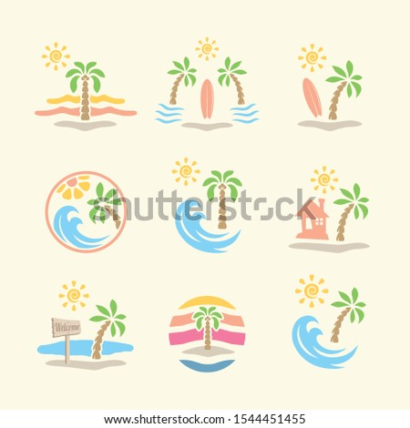 9 set pack vector abstract