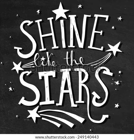 'shine like the stars' hand