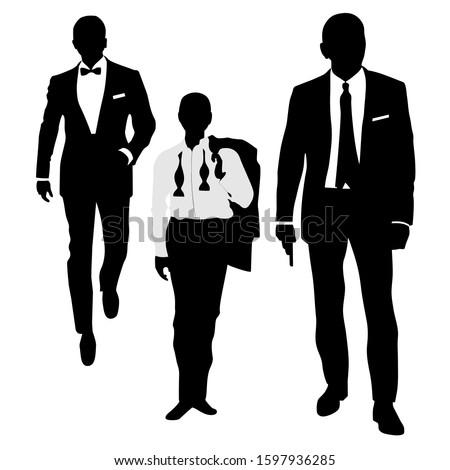 silhouette of three secret
