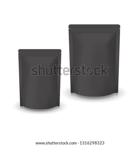 2 sizes blank black standing
