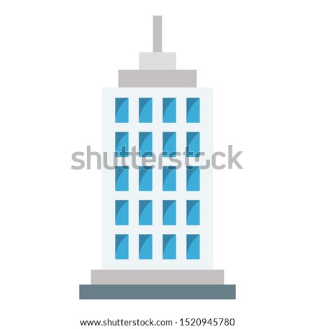 Skyline Color vector icon fully editable