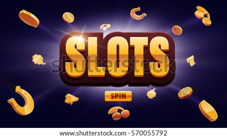 777 slots 3d element isolated on black background with place for text
