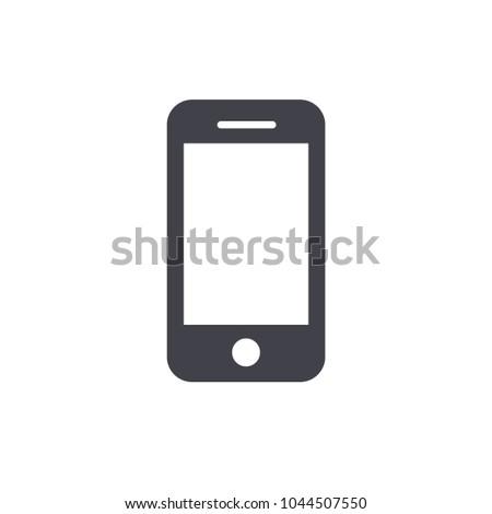 smartphone icon vector EPS10
