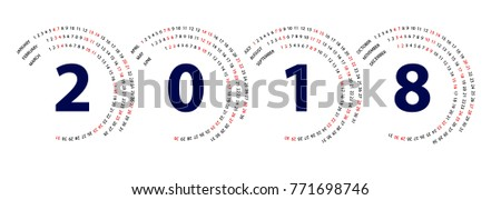 stock-vector--spiral-calendar-template-vector-design