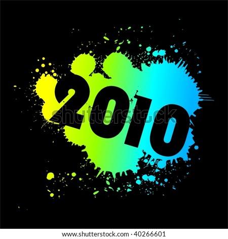 2010 splash design VECTOR #40266601