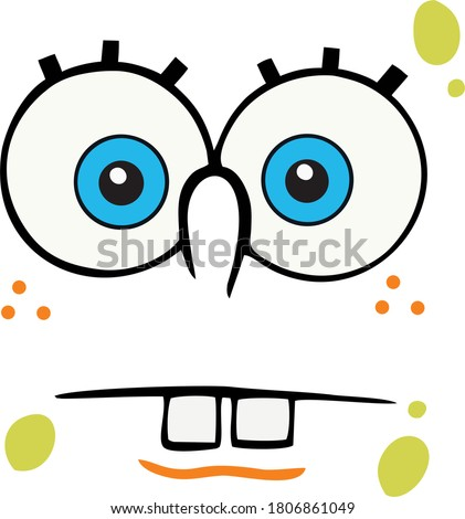 spongebob vector for free use