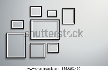 square isolated picture frame