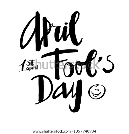 1st april fool s day hand