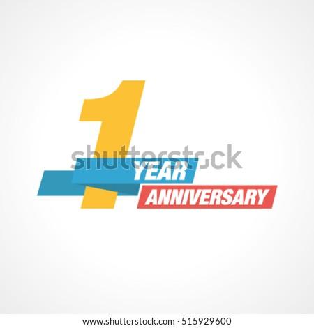 1st years anniversary...