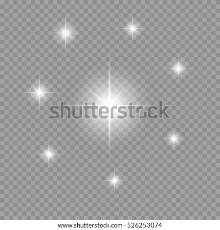 star light effect vector