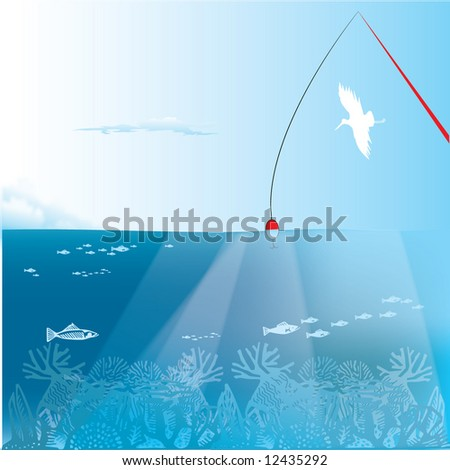 ''summer_fishing'' stock photo