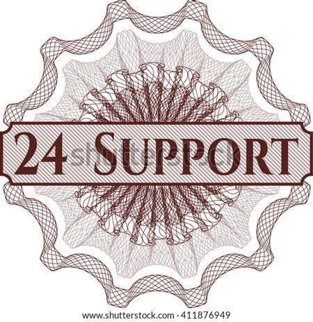 24 Support rosette