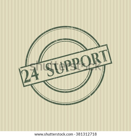24 Support rubber grunge texture seal