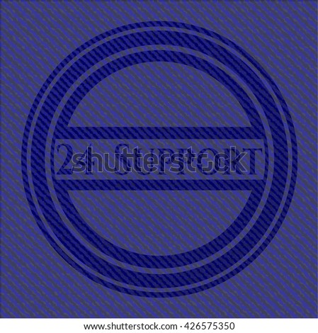 24 Support with denim texture