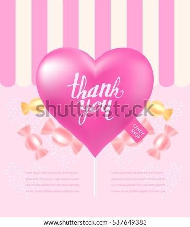 sweet candy illustration
