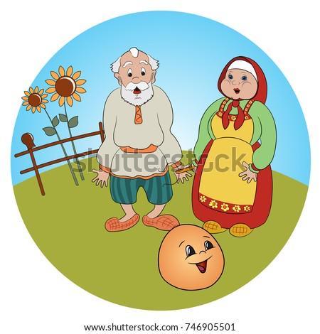 tale of kolobok russian