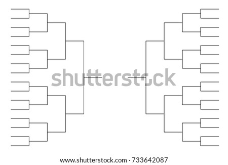 template for tournament brackets