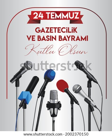 24 temmuz gazetecilik ve basin