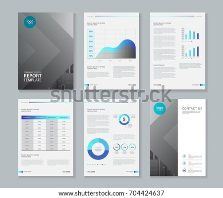 creative business brochure template design in size a4 download