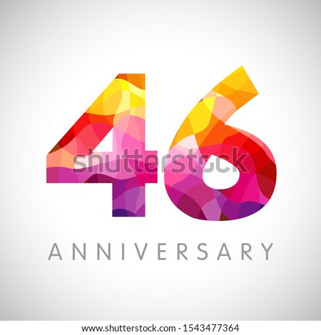 46 th anniversary numbers 46