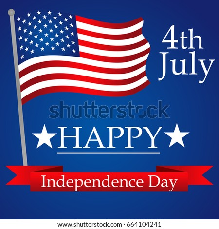 Happy Independence Banners Inspirational Banners