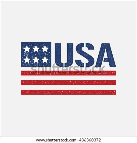 4th of july patriotic flag
