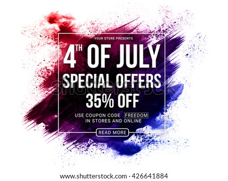 4th of july special offers  4th